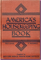 americas housekeeping book