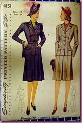 1945 simplicity pattern