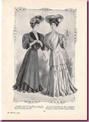 1905 high fashion