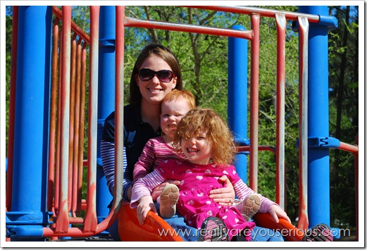 Mommy and Me Monday at the Playground