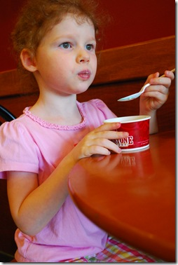yummm..ice cream