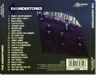 Undertones - Undertones - back