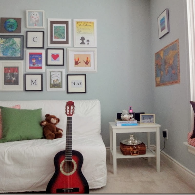 Playroom Art Wall