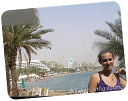 My daughter in Eilat