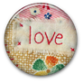 Love flair button