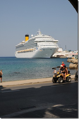 Costa Fortuna - Rhodes - Grécia