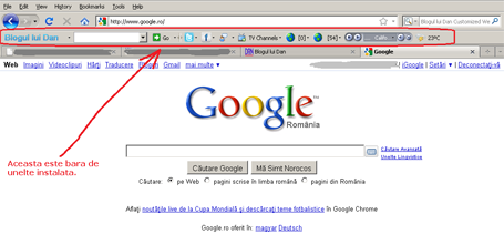 toolbar demo 455 Toolbar cu functii utile