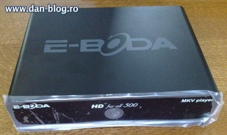 E Boda HD for all 500 Media Player E Boda HD for all 500