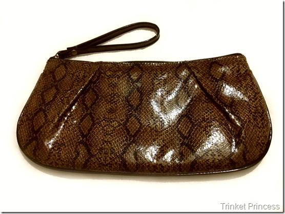 brown snakeskin clutch bag (2)