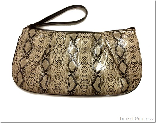 ivory snakeskin clutch bag (2)
