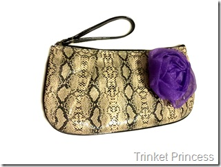 ivory snakeskin clutch bag (3)