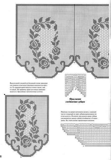Схему накидок для кресла крючком