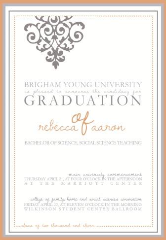 Rebecca Grad Announcement