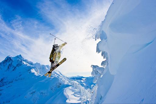 Лыжные фотографии Гранта Гюндерсона