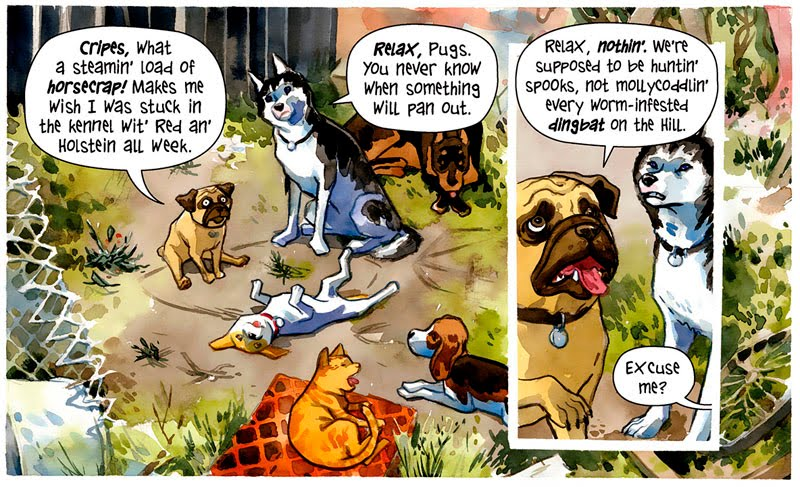 Beasts of Burden 2 panel