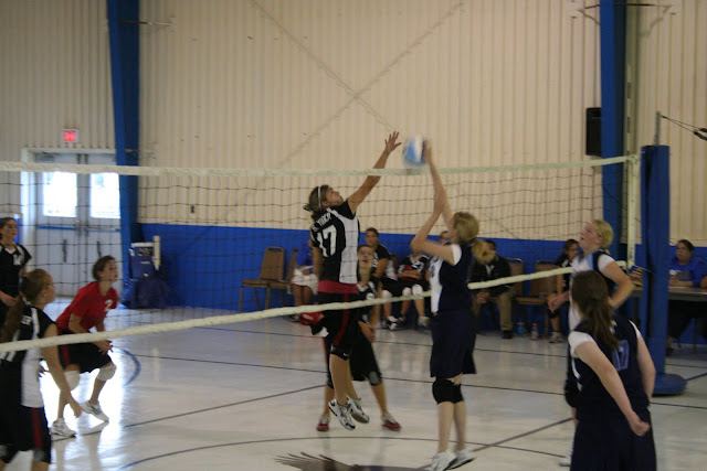 Gospel Haven Academy Flames Volleyball
