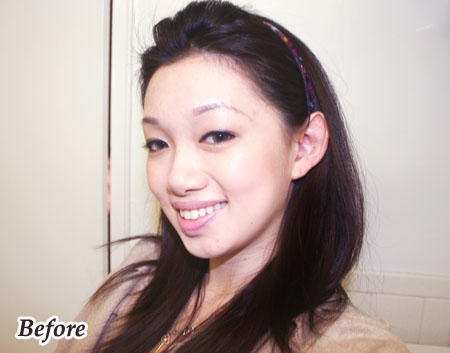 black and brown two tone hair