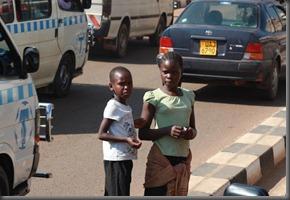 In Kampala Traffic