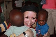 Suzy at Nsambya