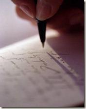 Escrevendo