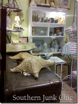 Southern Junk Chic starfish view