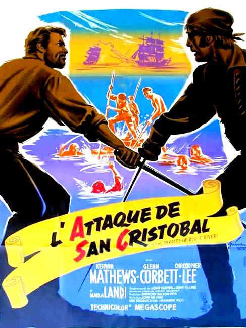 L'Attaque du San Cristobal affiche