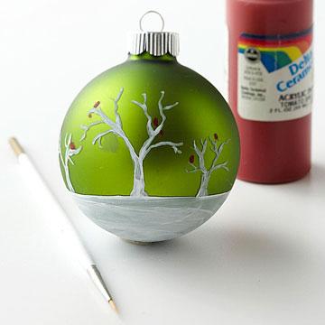 Bolas pintadas