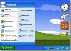 XP_Project_Orizontal_Menu