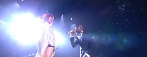 Dizzee & Florence + The machine @ The BRIT awards 2010