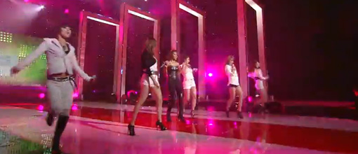 Amerie and 4 minute swag it on Music bank