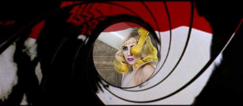 Gaga being scoped to sing the new Bond theme?!