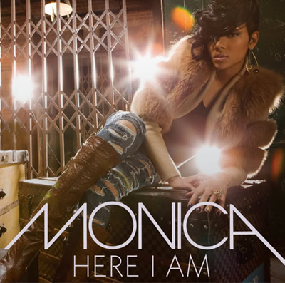 Single cover: Monica - Here I am