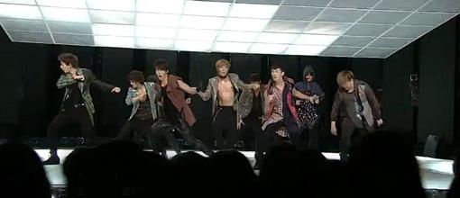 Super Junior perform 'Boom boom' and 'Bonamana' at Inkigayo | Live performance