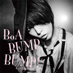 BoA's 'Bump Bump!' single cover artwork [CD]