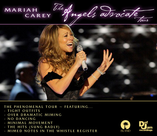Mariah's 'Angels advocate' tour