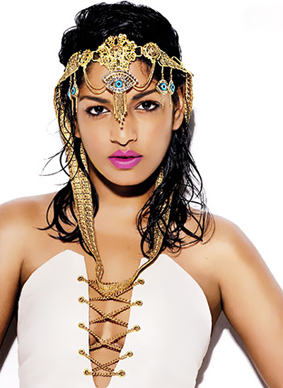 M.I.A works it for GQ magazine | Photoshoot