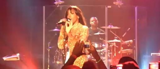 Kelly Rowland's gig for iheartradio | Live performance