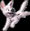 Gif Bolt Super Cão