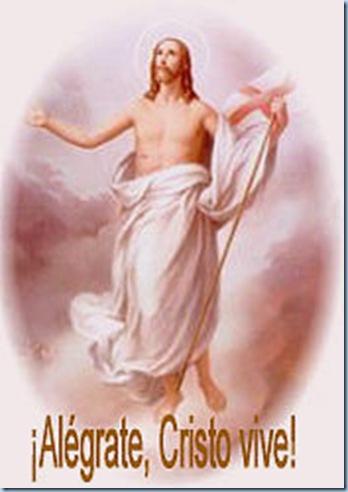 Jesús resucitó, Aleluya