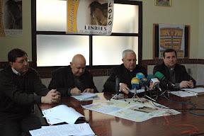 Rueda de prensa en la Beatificación de Linares