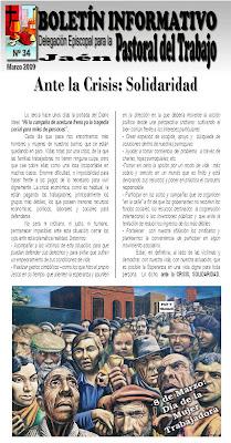 Boletín Informativo de Pastoral Obrera