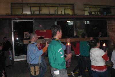 Via Crucis de jóvenes en Linares