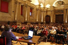 Conferencia de Ana Tere en la Sacristía de la Catedral