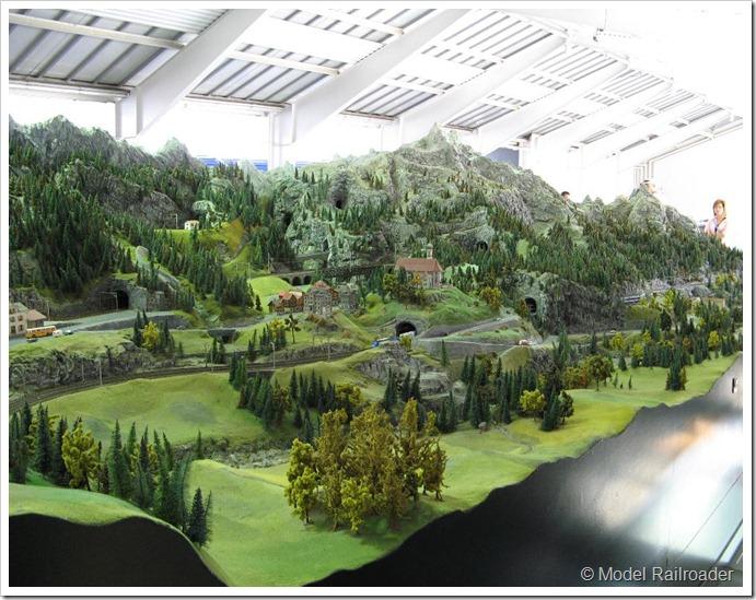 model railroading in switzerland