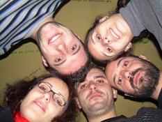 Mario, Natalia, Guillermo, Marta, yo