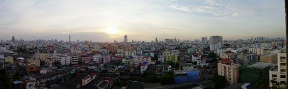 Bangkok desde la casa de Anastasia