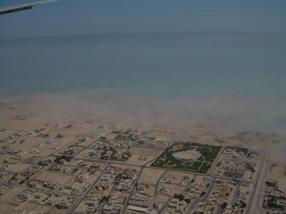 niebla en Al Wakrah, Qatar