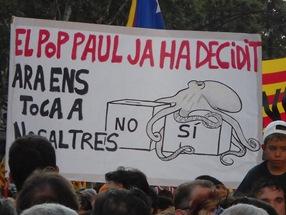 Manifestación por la sentencia del Estatut