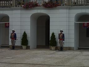 guardia del Palacio Presidencial, Bratislava