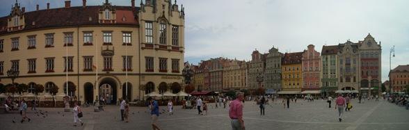 plaza del mercado, Breslavia